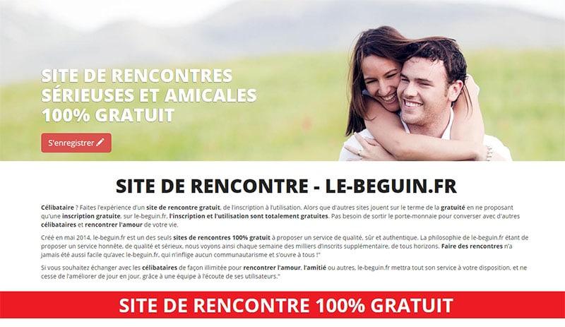 le site le-beguin.fr